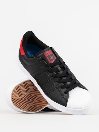 Buty adidas Superstar Vulc Adv (cblackscarleftwwht)