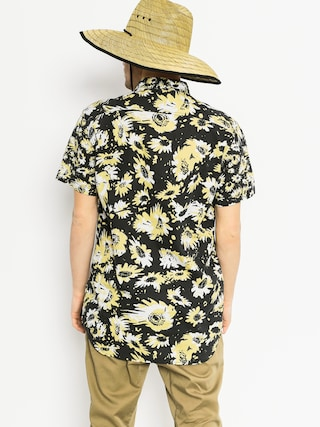 Koszula Quiksilver Drop Out (black/yellow)