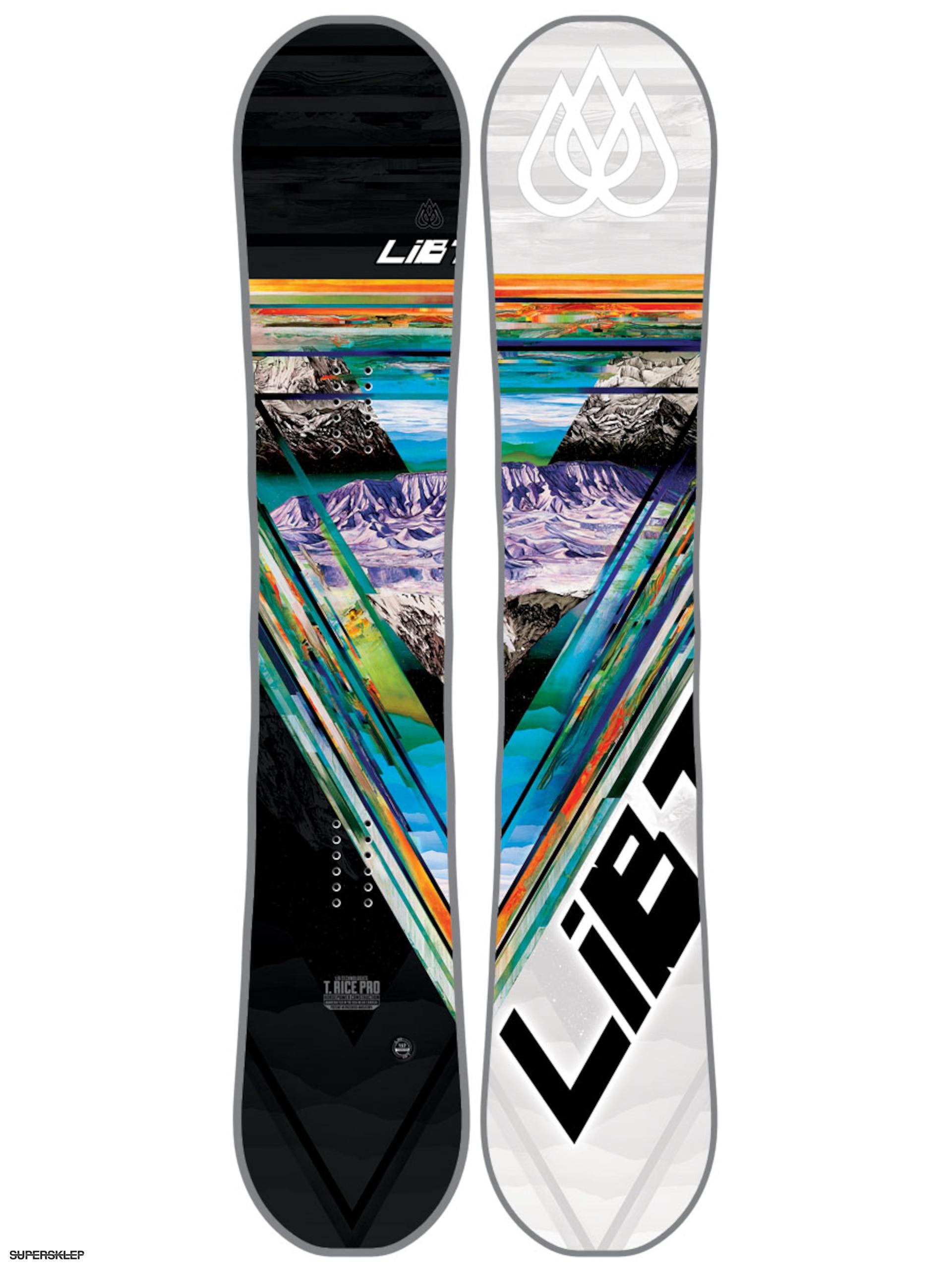 Deska snowboardowa Lib Tech T Rice HP C2X (blunt)