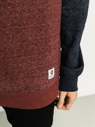 Bluza Element Meridian Cr (oxblood red)
