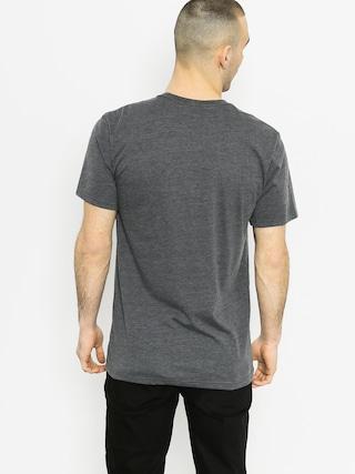 T-shirt Fox Dormant (heather black)