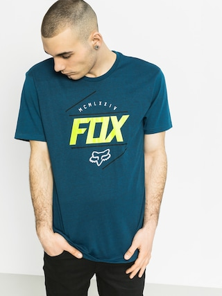 T-shirt Fox Looped Out (heather maui blue)