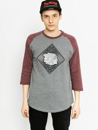 Koszulka Element Feather 3I4 Rag (grey heather)