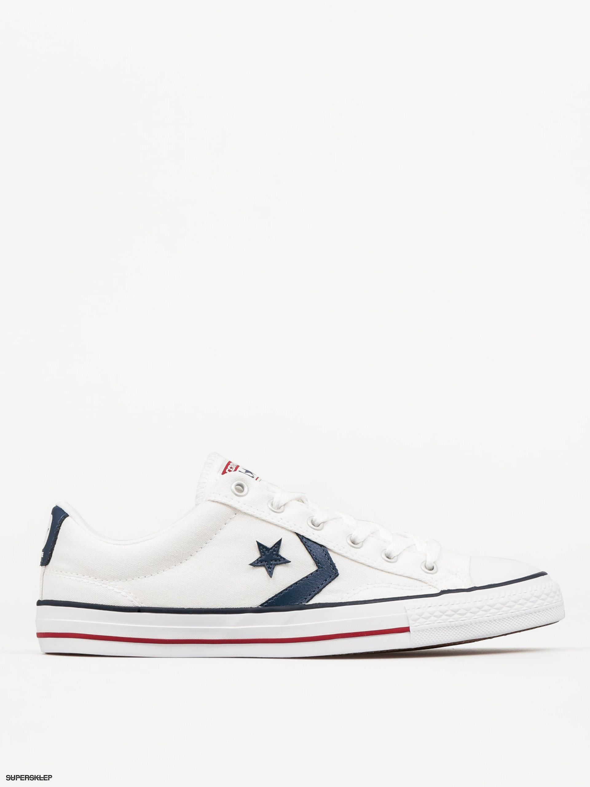 Trampki Converse Star Player Ox (whitewhitenavy)