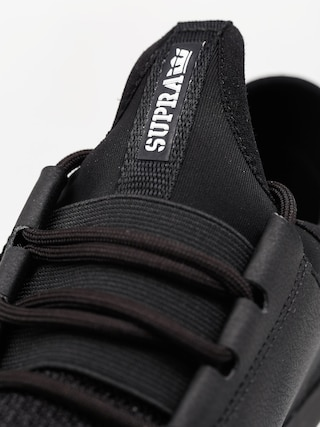 Buty Supra Flow Run (black/black white)