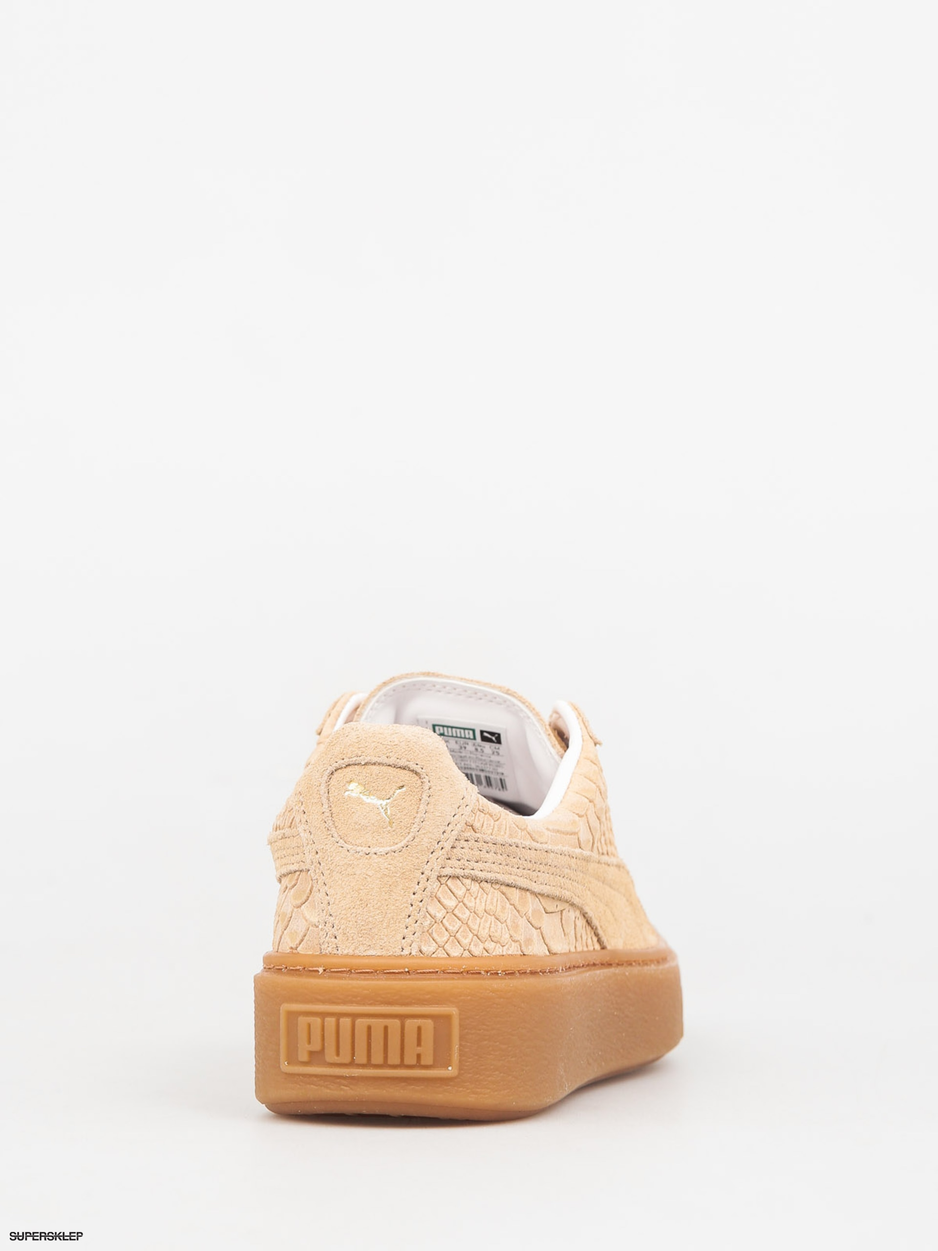 Buty Puma Platform Exotic Skin Wmn (natural vachetta gold)