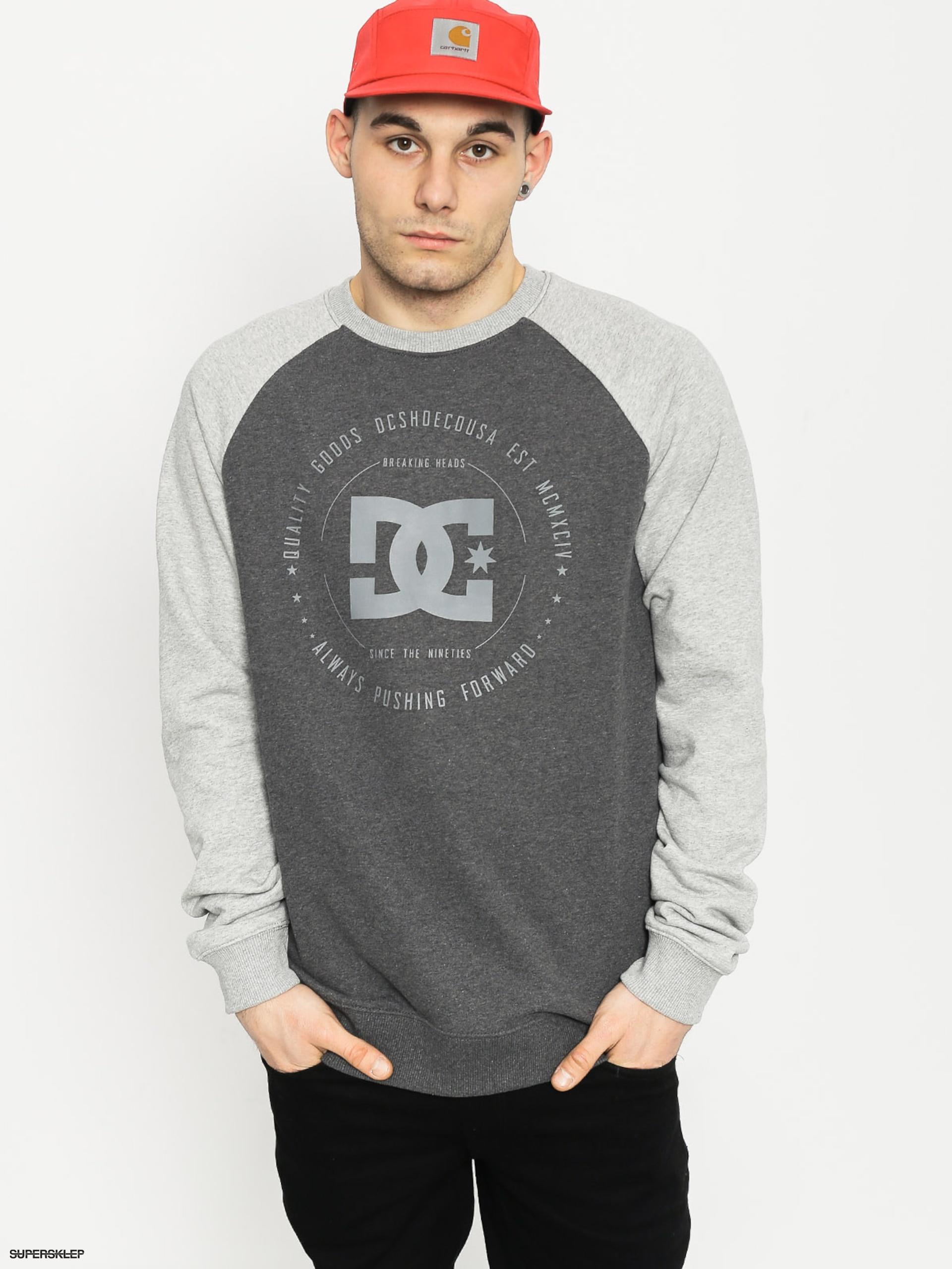 Bluza DC Rebuilt (charcoal/grey)