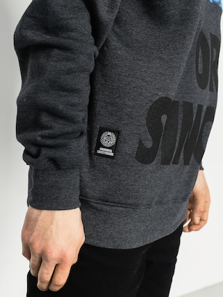 Bluza z kapturem MassDnm Baller HD (charcoal/blue)