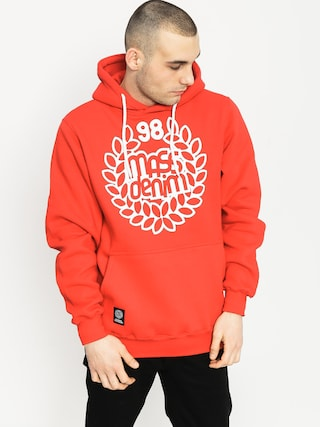 Bluza z kapturem MassDnm Base HD (red)