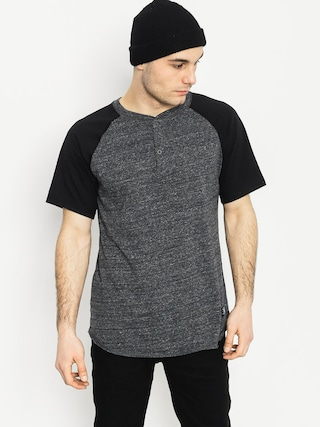 T-shirt DC Enderlin Henley (charcoal heather)