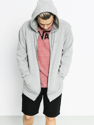 Bluza z kapturem Vans Core Basic ZHD (cement heather)