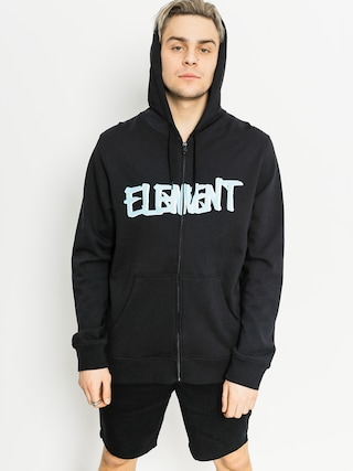 Bluza z kapturem Element Word ZHD (flint black)