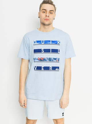 T-shirt Quiksilver Read Between (light blue)