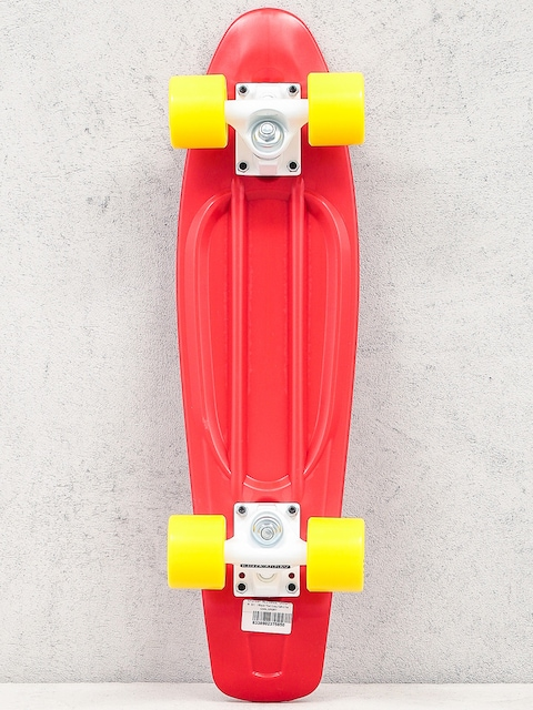 Deskorolka cruiser Alliance 01 (red/yellow/white)