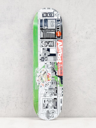 Deck Almost Stick O Rama R7 (green/white)