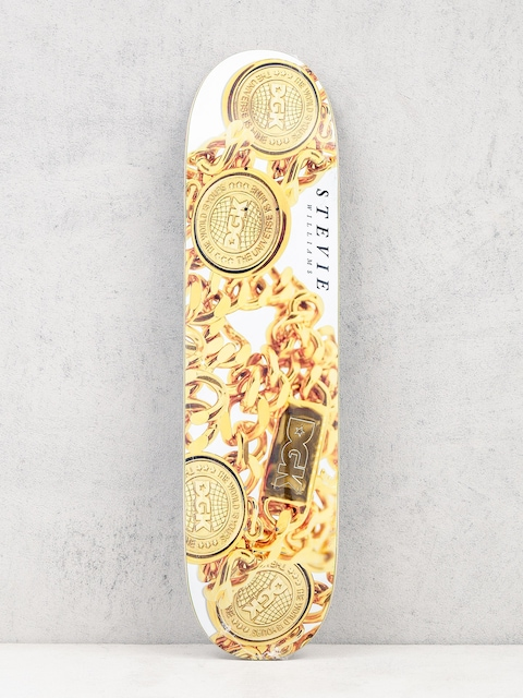 Deck DGK Williams Medalion (gold/white)