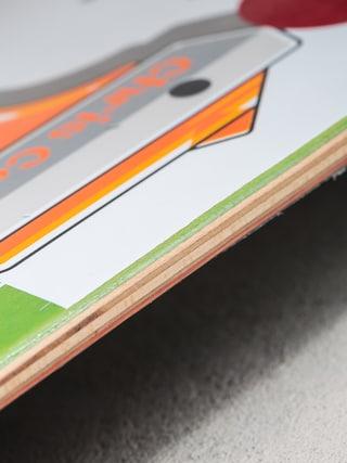 Deck Plan B Chris Cole Heat (white/green/orange)