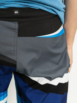 Boardshorty Quiksilver Slash Logo Vee 20 Boardshorts ( black/blue)