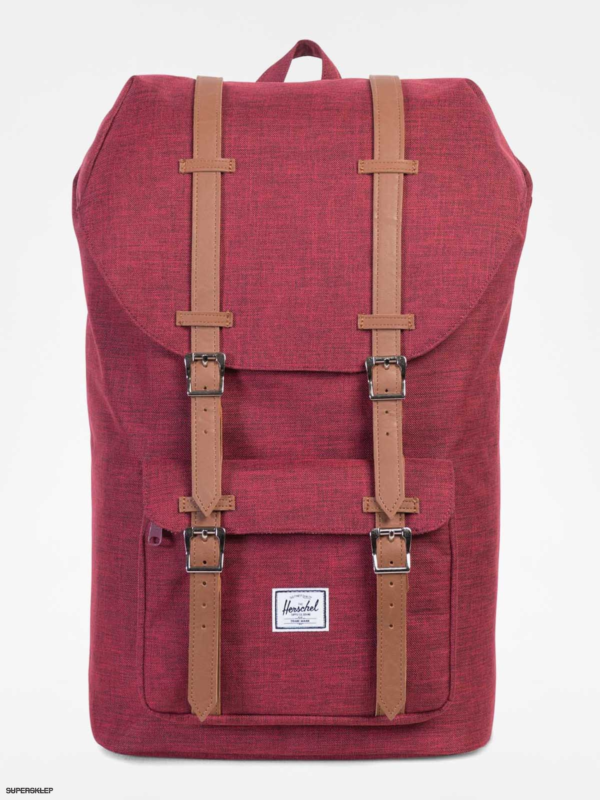 Plecak Herschel Supply Co. Little America (winetasting crosshatch/tan 25l)