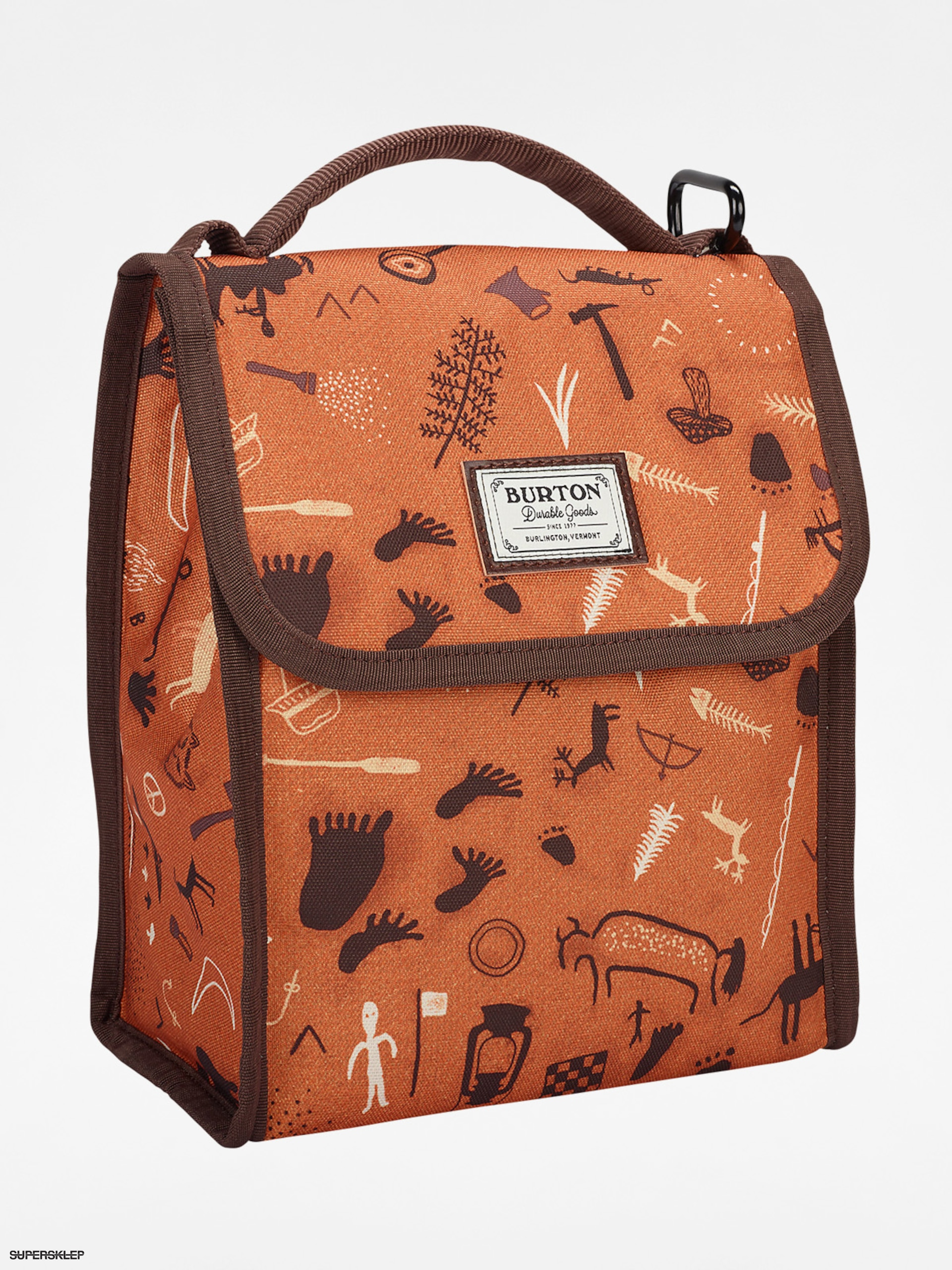 Torba na lunch Burton Lunch Sack (caveman print)