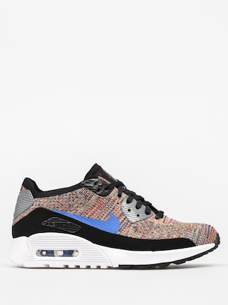 Buty Nike Air Max 90 Wmn (Ultra 2 0 Flyknit black/medium blue cool grey)
