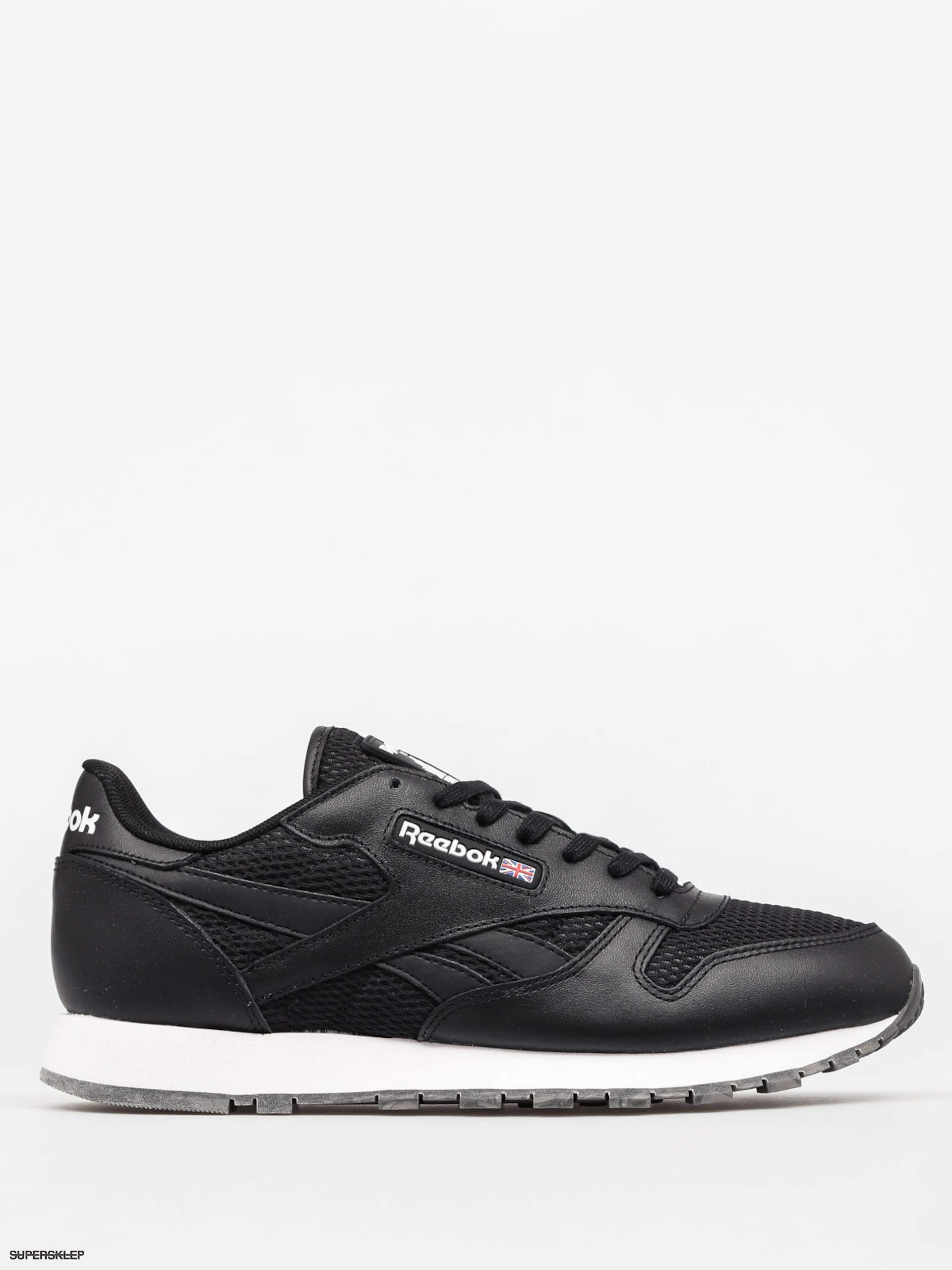 Buty Reebok Classic Leather Nm (black/white/coal gum)
