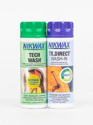 Zestaw pielęgnacyjny Nikwax Twin Tech Wash Tx Direct Wash In (2x300ml)