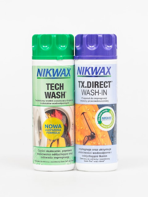 Zestaw pielęgnacyjny Nikwax Twin Tech Wash Tx Direct Wash In (2x300ml)