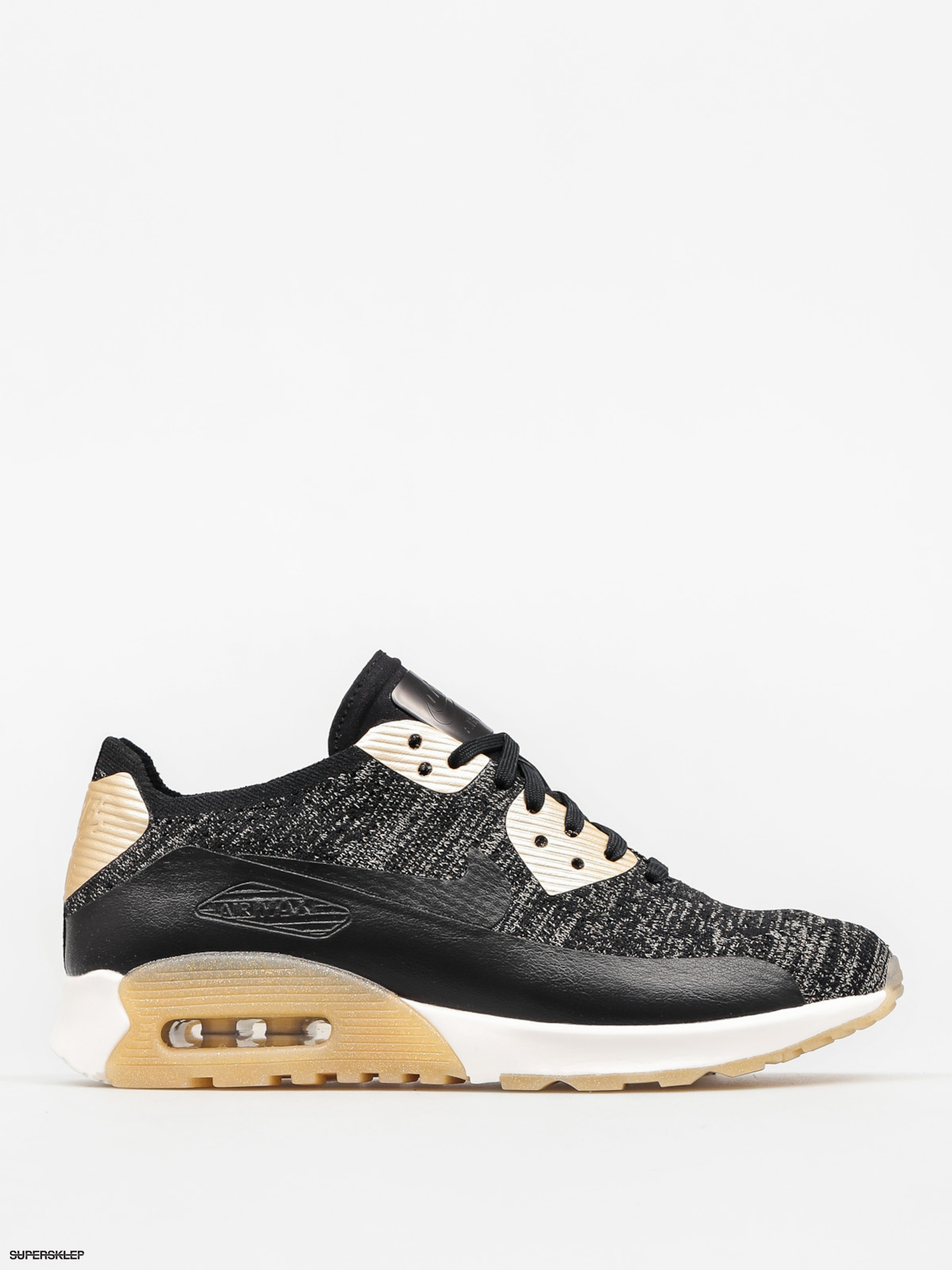Buty Nike Air Max 90 Wmn (Ultra 2.0 Flyknit Metallic black/black)