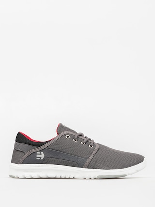 Buty Etnies Scout (grey/black/red)