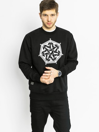 Bluza Nervous Diamond Crew (black)