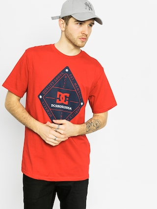 T-shirt DC Long Day (red)