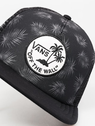 Czapka z daszkiem Vans Surf Patch Trucker ZD (tonal palm black)