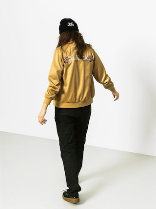 Kurtka Stussy California Satin Wmn (gold)
