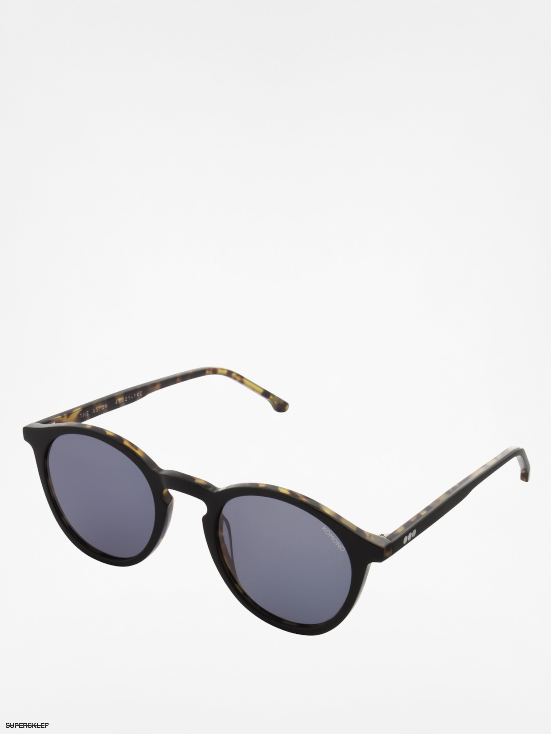 Okulary przeciwsłoneczne Komono Aston (black/tortoise)