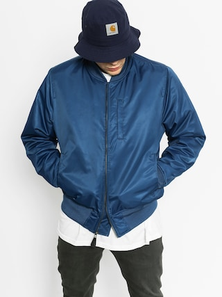 Kurtka Stussy Flight Satin Bomber (navy)