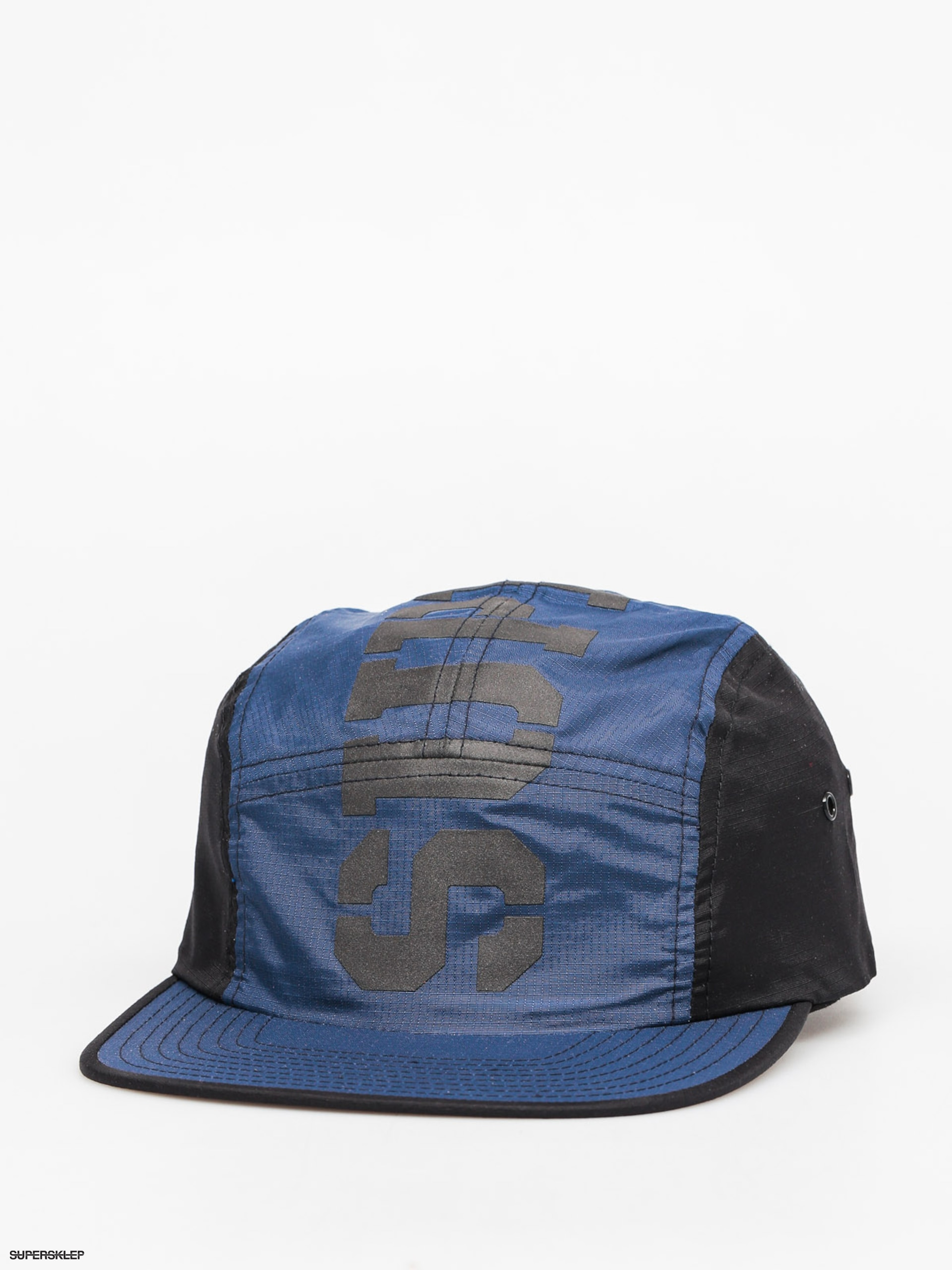 Czapka z daszkiem Supra Major 5 Panel ZD (black/blue)