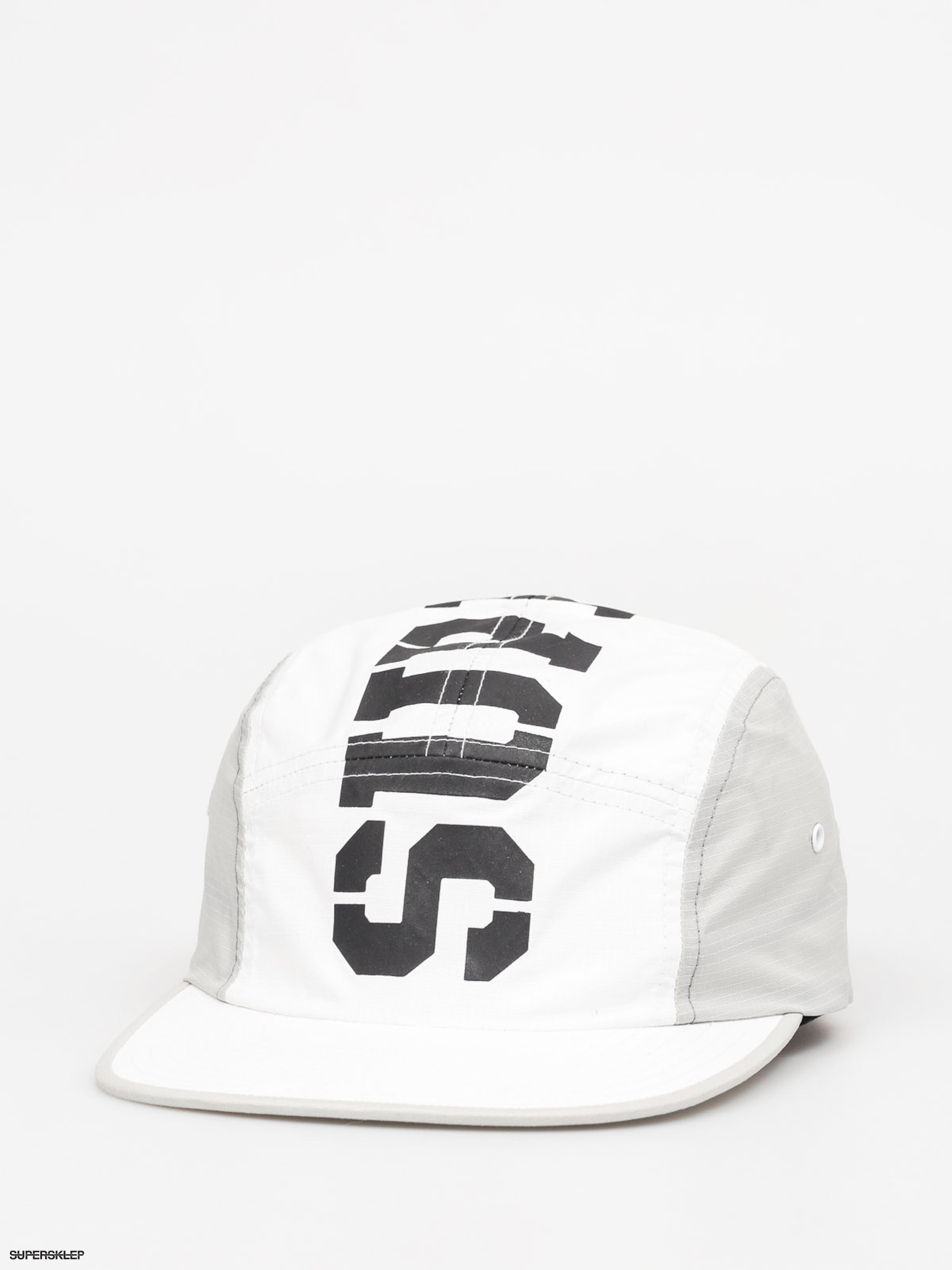 Czapka z daszkiem Supra Major 5 Panel ZD (white/grey)