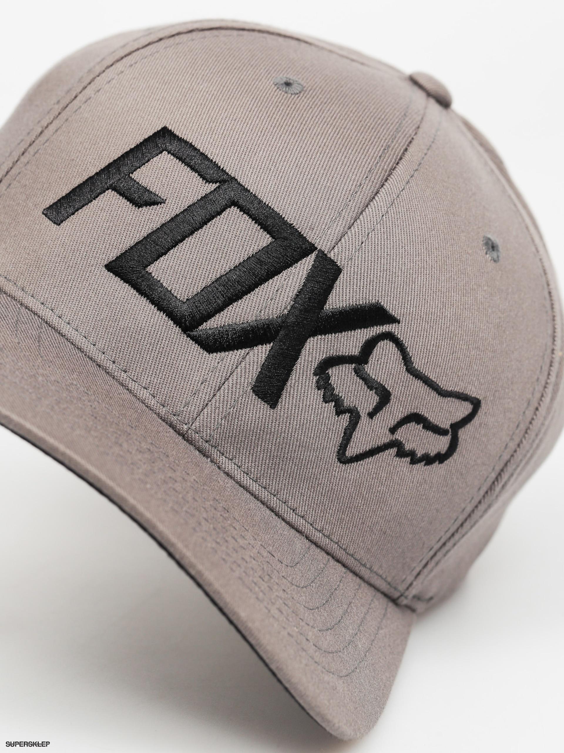 Czapka z daszkiem Fox Draper Flexfit ZD (graphite)