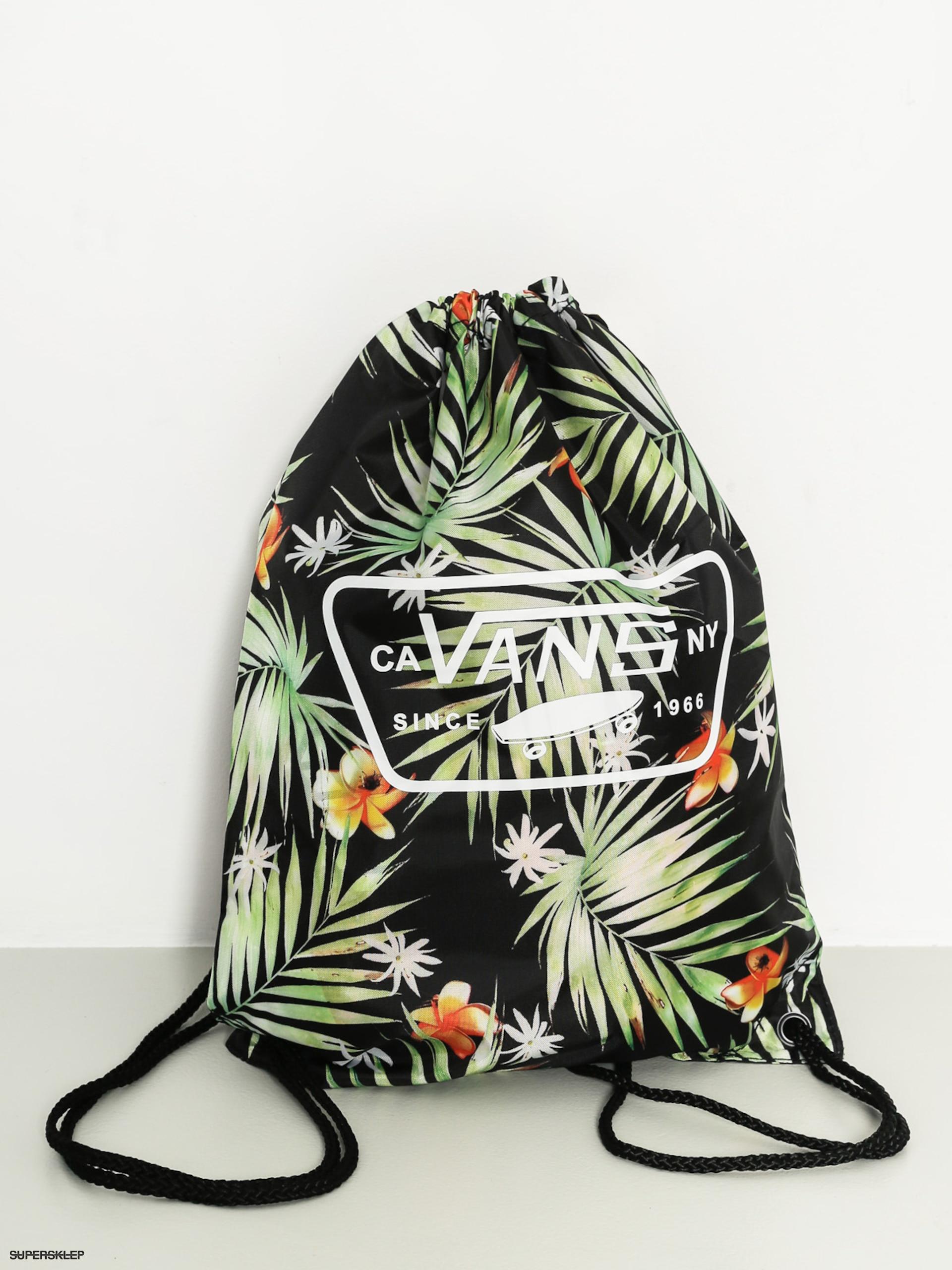 f298a74999a18 Plecak Vans League Bench Bag (black decay palm)