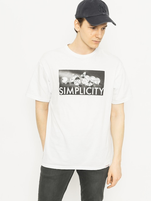 T-shirt Diamond Supply Co. Definition (white)