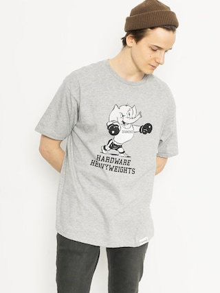 T-shirt Diamond Supply Co. Heavyweight Mascot (heather grey)