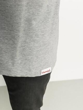 T-shirt Diamond Supply Co. Heavyweight Mascot (heather grey)