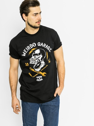 T-shirt Turbokolor Weird (black)