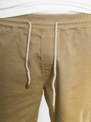 Spodnie Malita Jogger (beige/aztek green pocket)