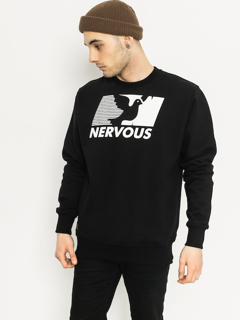 Bluza Nervous Broadcast Crew (black)