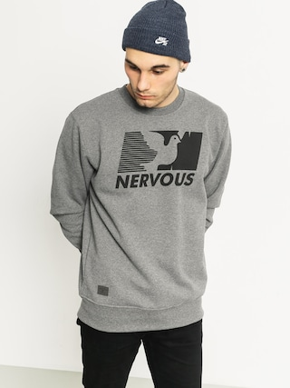 Bluza Nervous Broadcast Crew (grey)