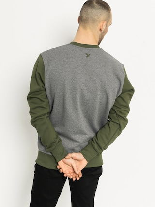 Bluza Nervous College (grey/olive)