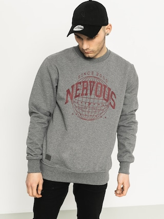 Bluza Nervous Global Crew (grey)