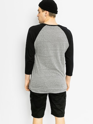 T-shirt Supra Strikeout Prem Rag (grey heather/black)